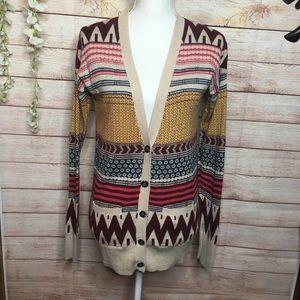 Mossimo Supply Co. multicolored sweater S